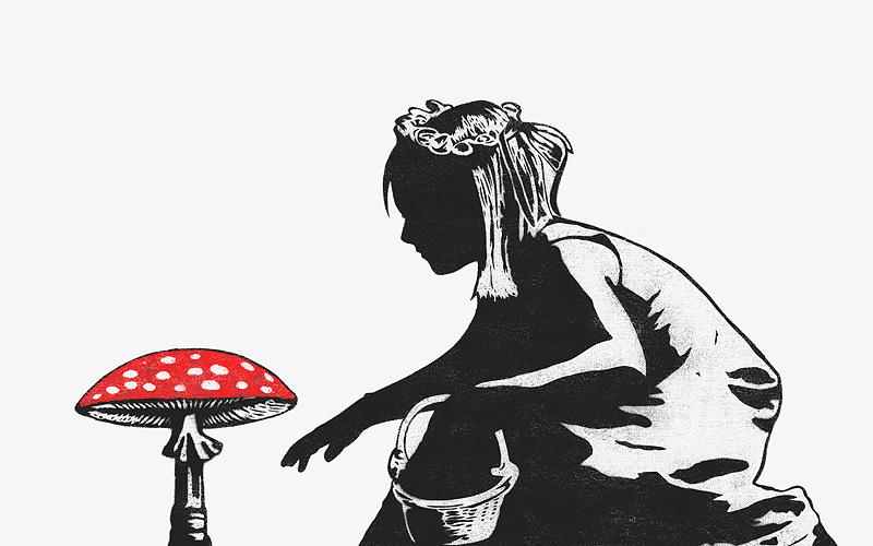 Dolk Mushroom Girl