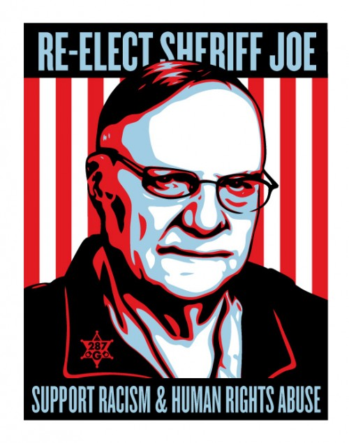 Fairey Joe Arpaio
