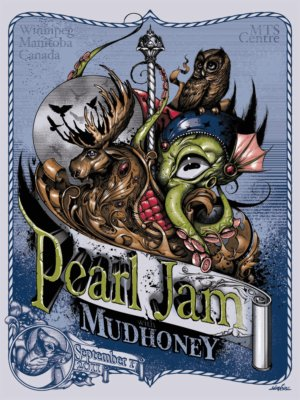 Simkins Pearl Jam winnipeg variant
