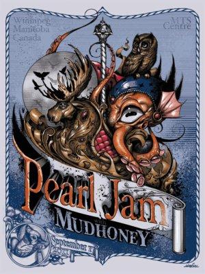 Simkins Pearl Jam winnipeg