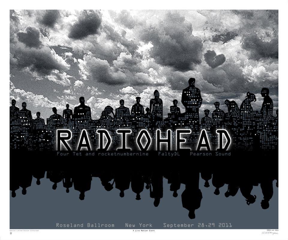 emek  radiohead nyc