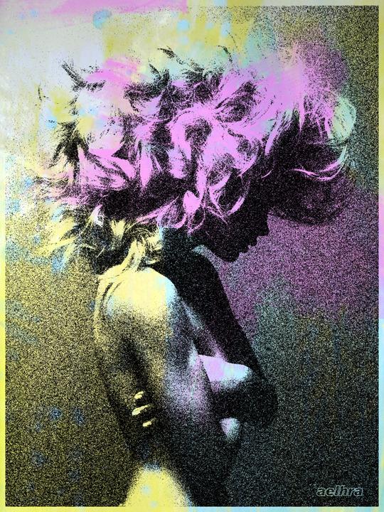 Aelhra Beautiful Dreamer watercolor