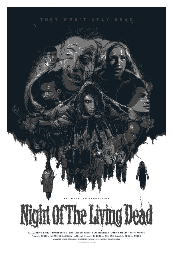 DOMARADZKI night of the living dead variant