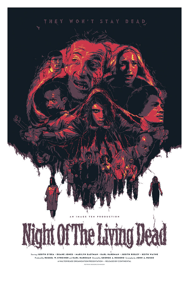 DOMARADZKI night of the living dead
