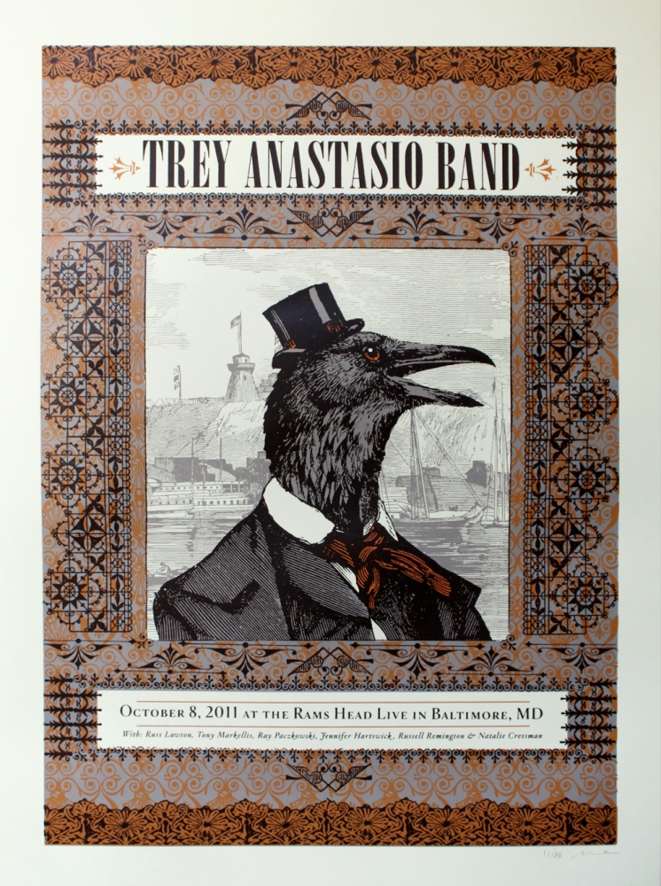 duval Trey Anastasio Band Baltimore MD