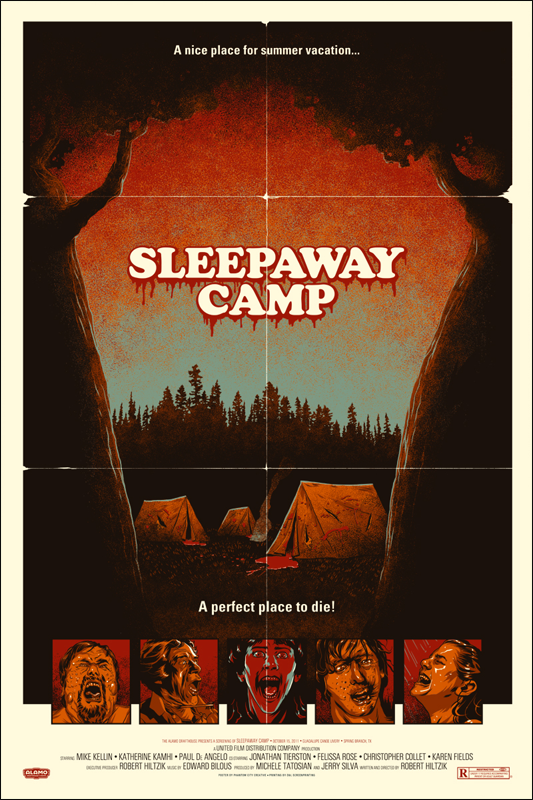 phantom creative sleepaway camp - Halloween Mondo Poster