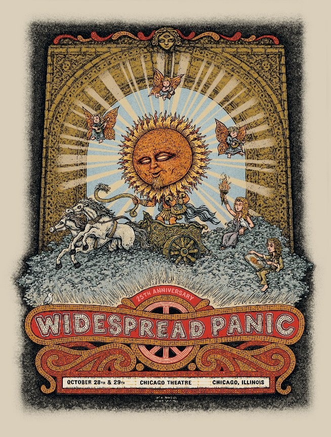 spusta widespread panic chicago il