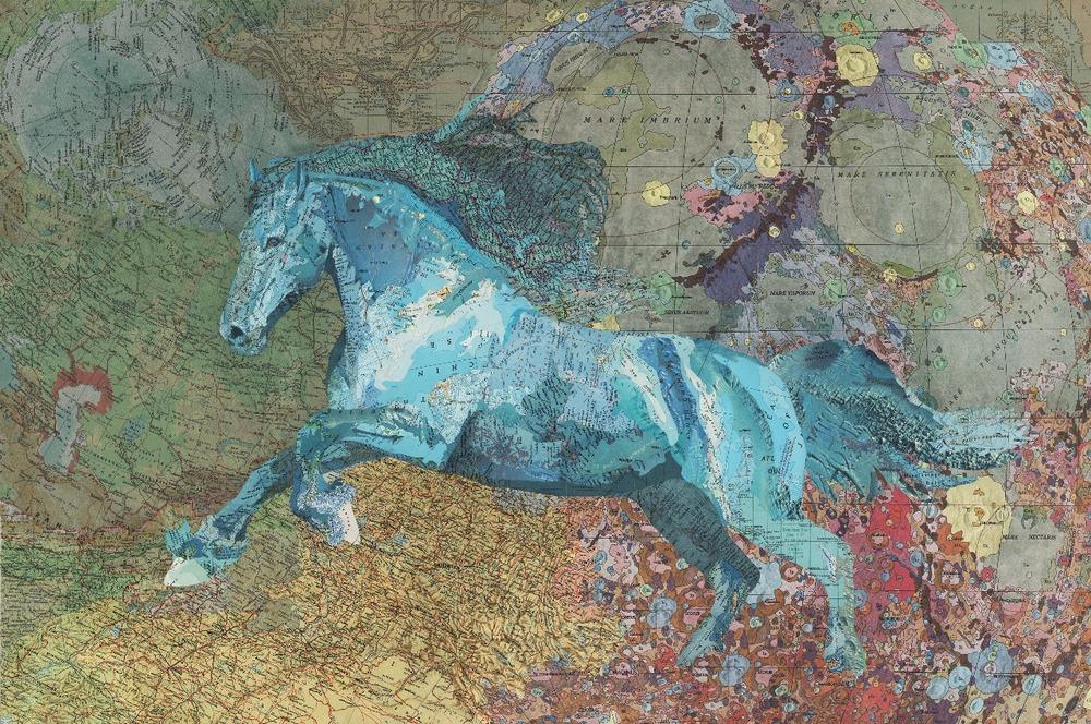 Cusick Blue Horse