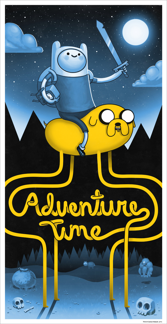 Mitchell adventure time variant