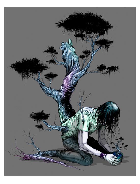 Pardee TreepleBonzaiPrint