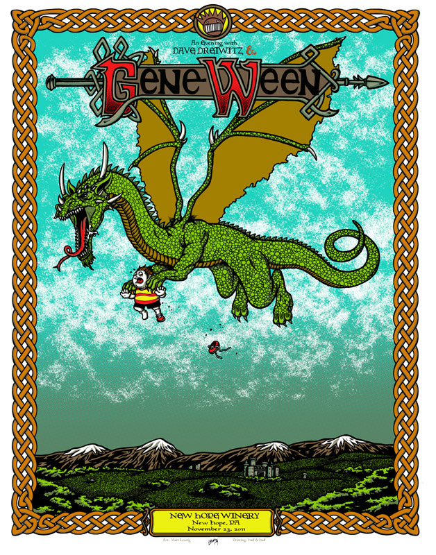 leunig Gene Ween new hope pa