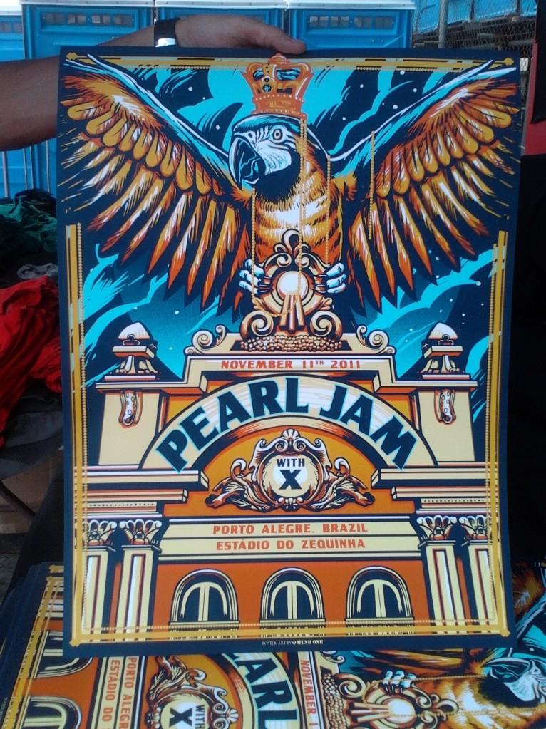 munk one Pearl jam Porto Alegre brazil