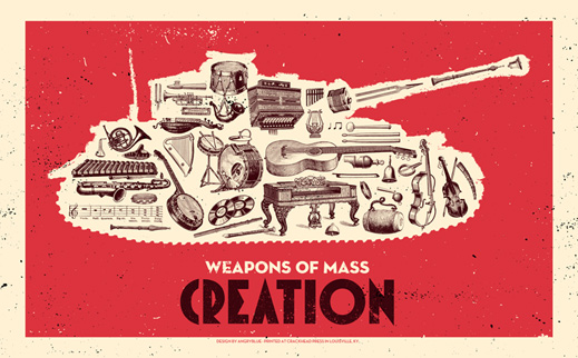 angryblue weapons of mass creation music