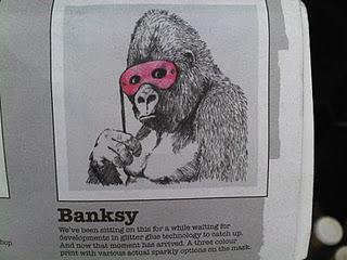 banksy gorilla 2