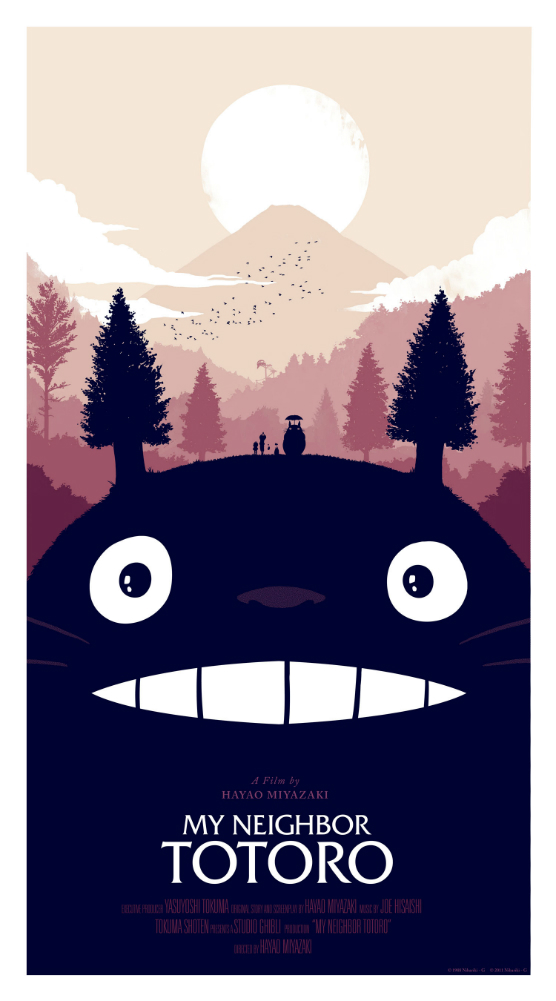 moss my neighbor totoro