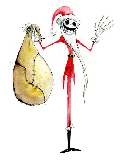 pardee Santa Jack Skellington