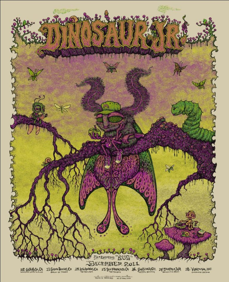 spusta dinosaur jr dec tour