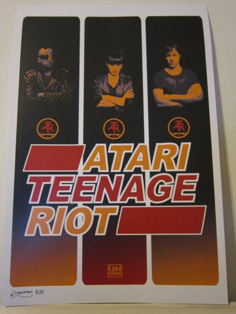 unhuman atari teenage riot