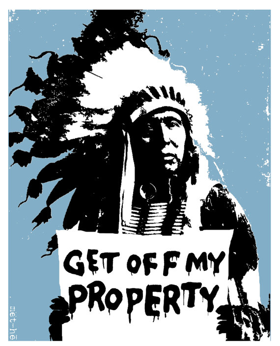 bmethe get off my property