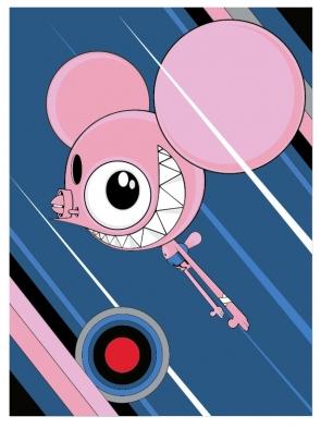 dalek pink space monkey