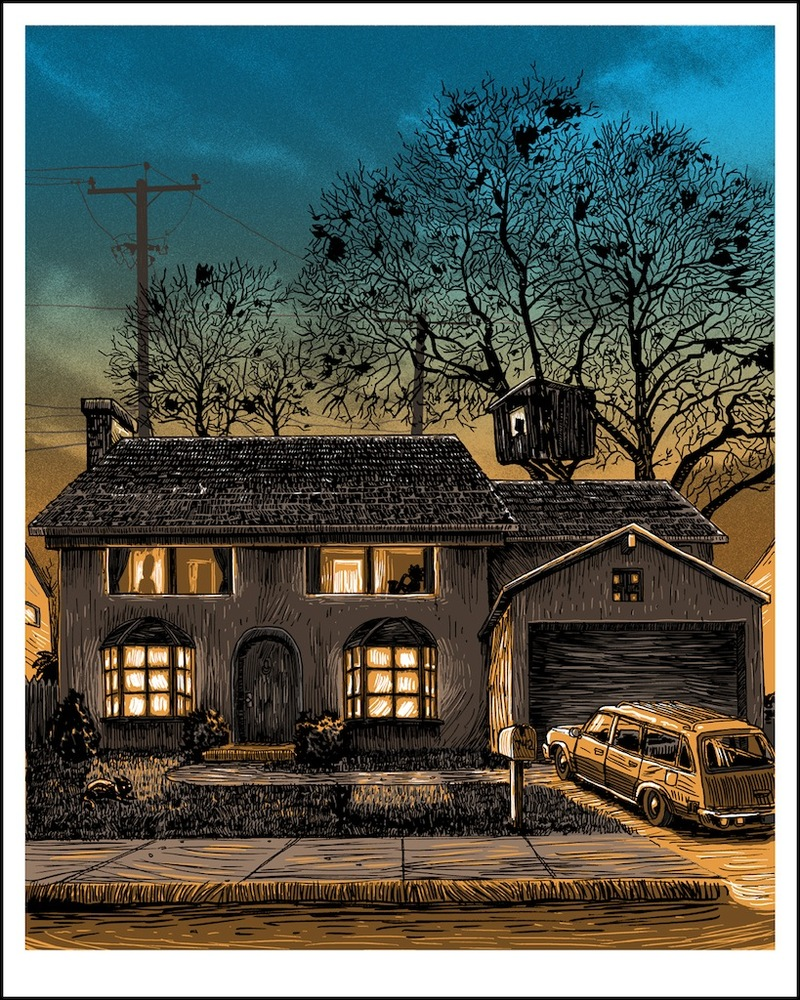 742 evergreen terrace by tim doyle 411posters for 742 evergreen terrace springfield