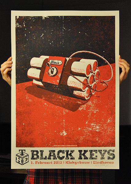 krause the black keys Eindhoven, Klokgebouw