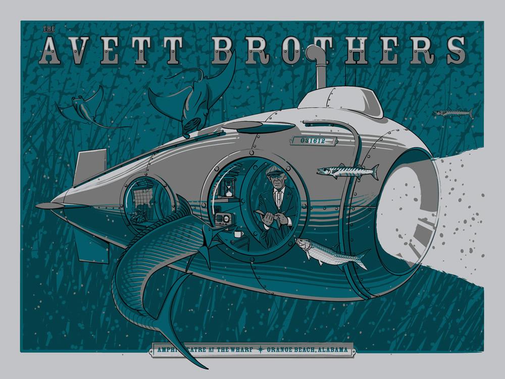 Twentyseven Design Co avett brothers orange beach al 2012