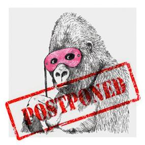 banksy Gorilla_postponed