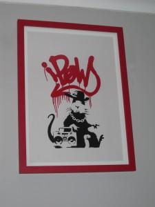banksy gangsta rat claire d