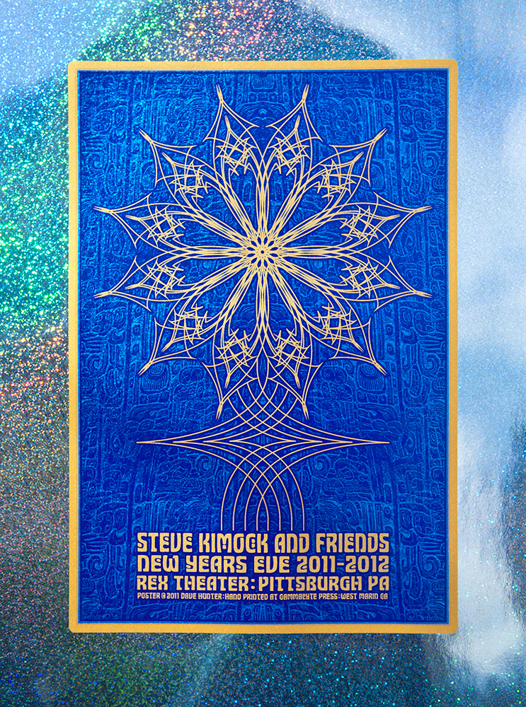 hunter Steve Kimock & Friends foil