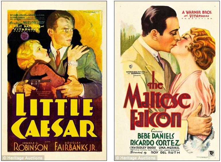 Little Caesar The Maltese Falcon