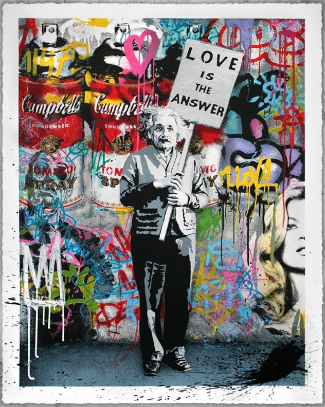 mr brainwash love is the answer