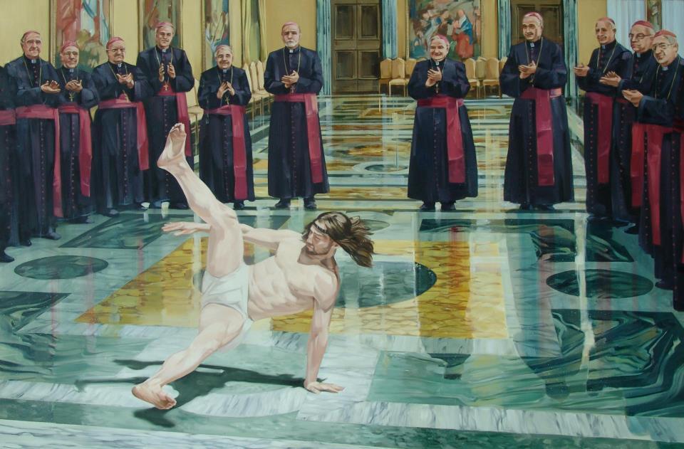 sarson Breakdancing Jesus
