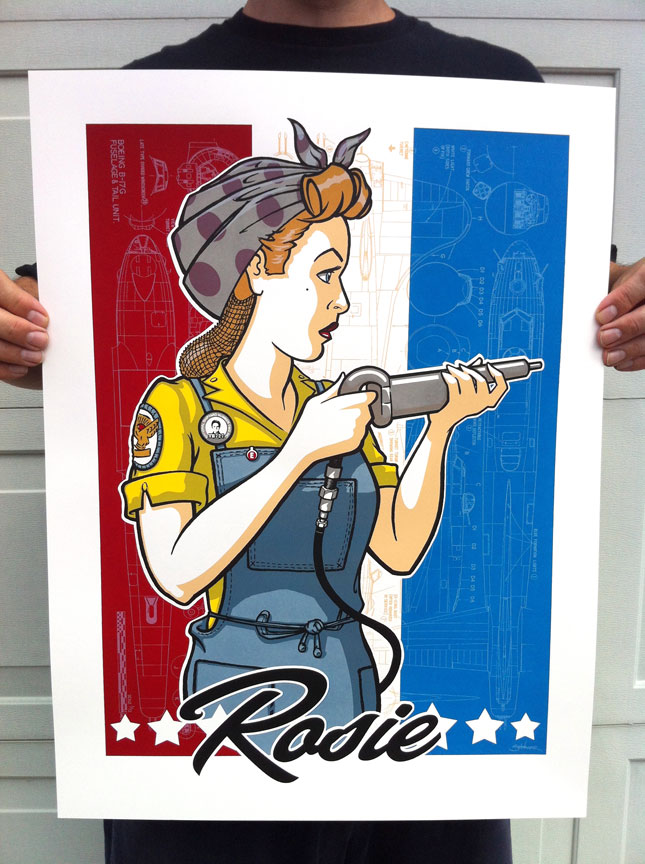 schwager rosie the riveter