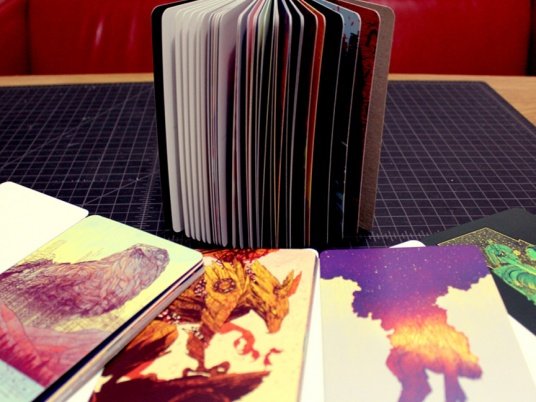 tong postcard books