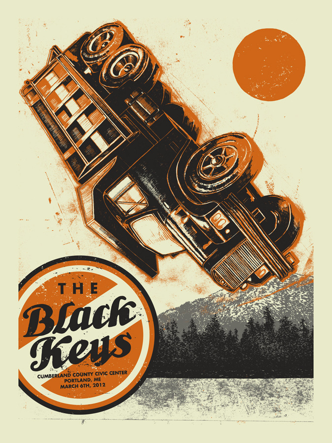 vogl the black keys portland me 2012