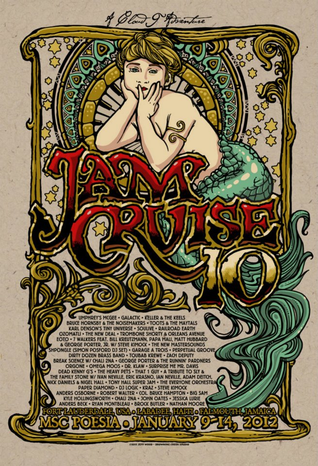wood jam cruise x mermaid