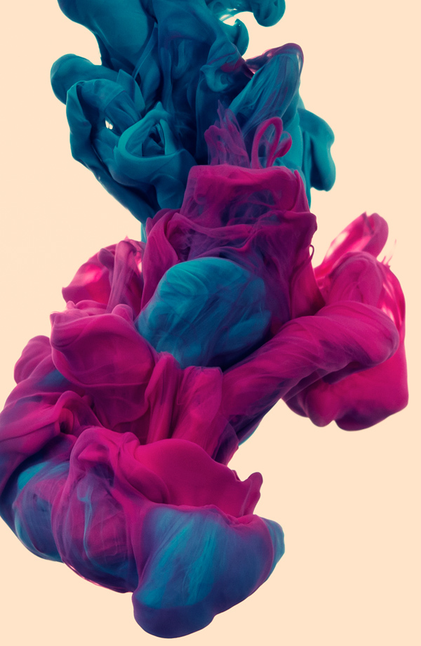 Alberto Seveso Posters - New incredible underwater ink photographs alberto seveso