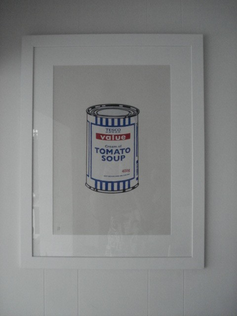 banksy soup can kenny