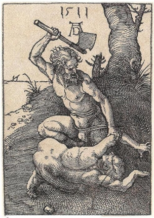 durer cain slaying abel