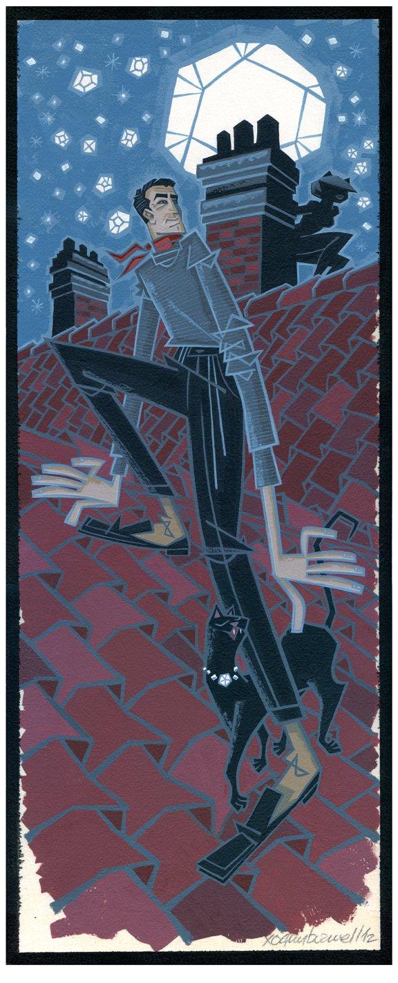 gallery 1988 suspense & gallows humor Burwell