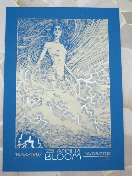 malleus bloom 25th anniversary blue