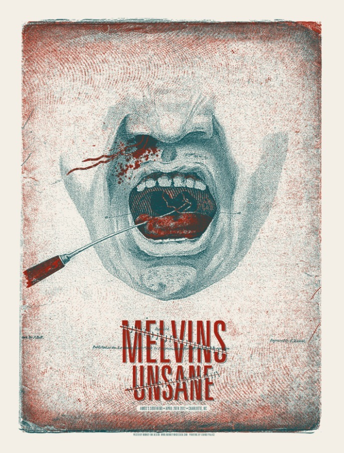 monkey ink Melvins_Unsane 2012