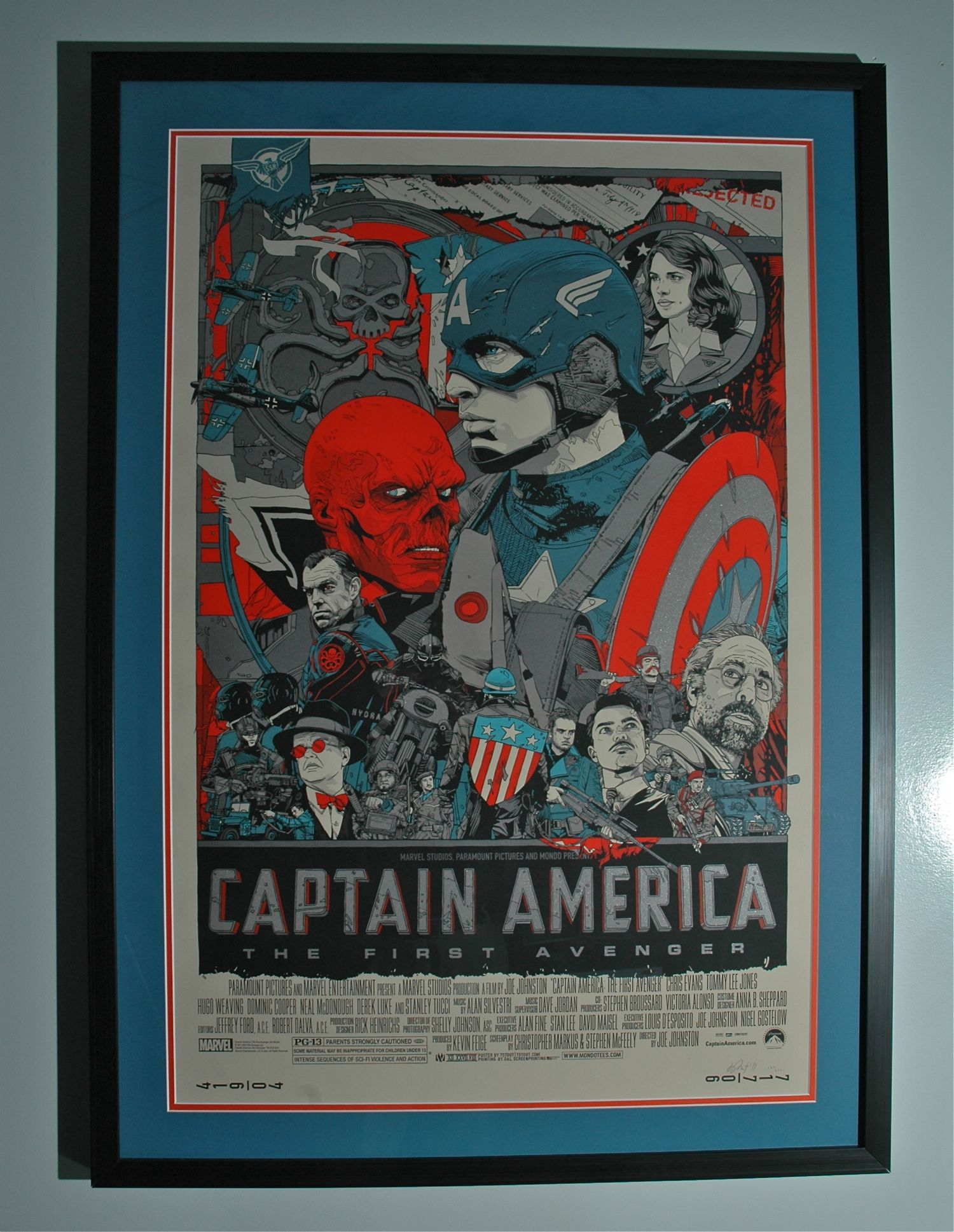 stout captain america mark z re