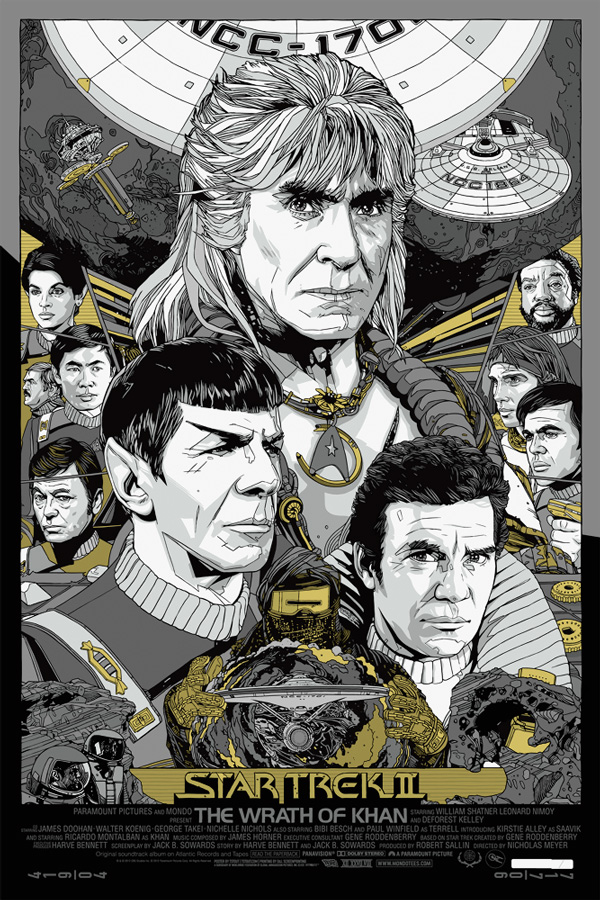 stout star trek II the wrath of khan variant