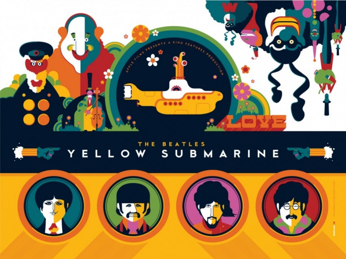 Yellow Submarine | 411posters