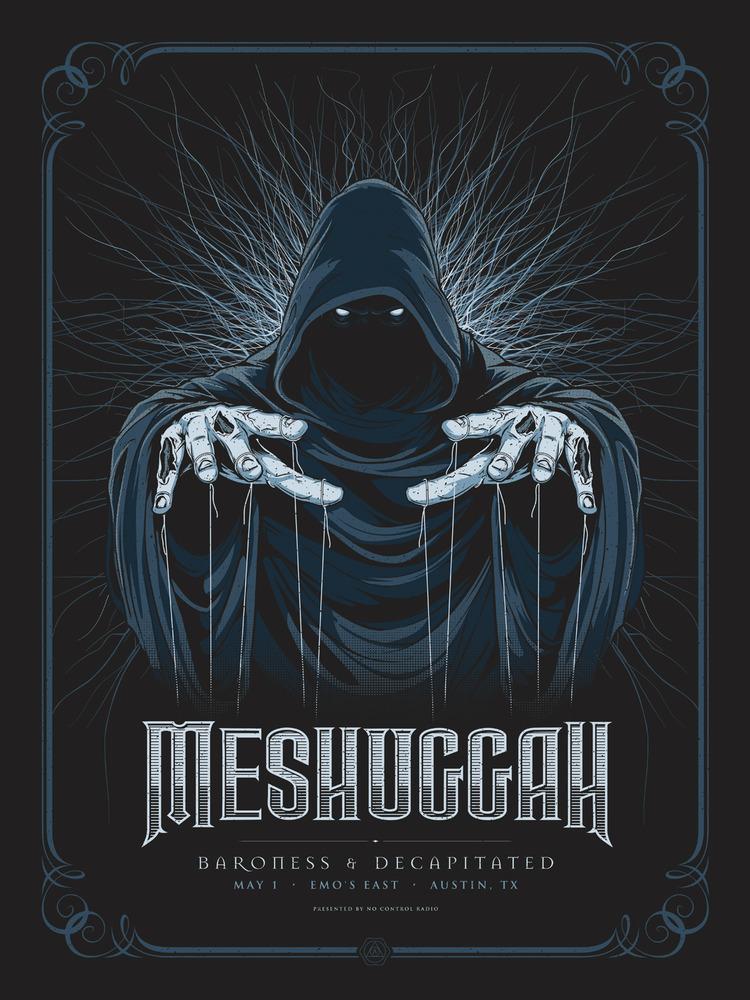 anonymous ink & idea meshuggah austin tx 2012 blue