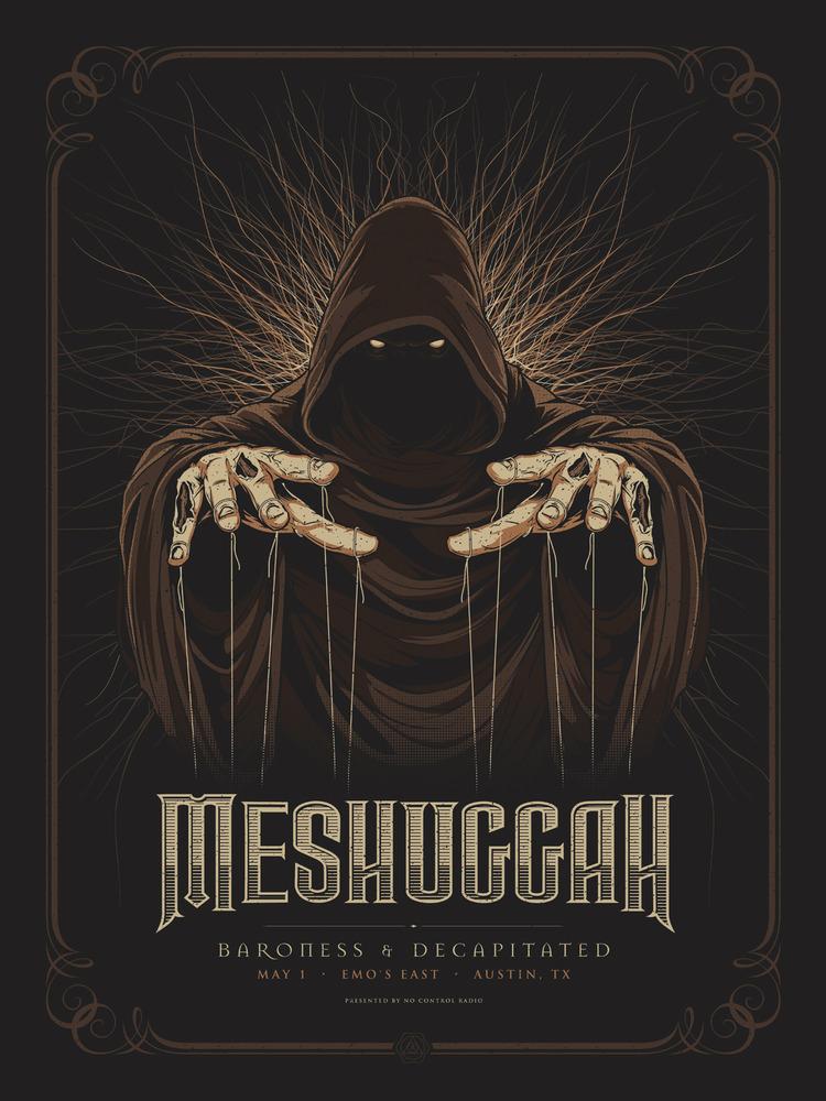 anonymous ink & idea meshuggah austin tx 2012 brown