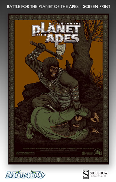 bertmer Battle for the Planet of the Apes variant