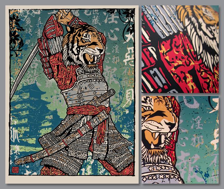gordon samurai tiger